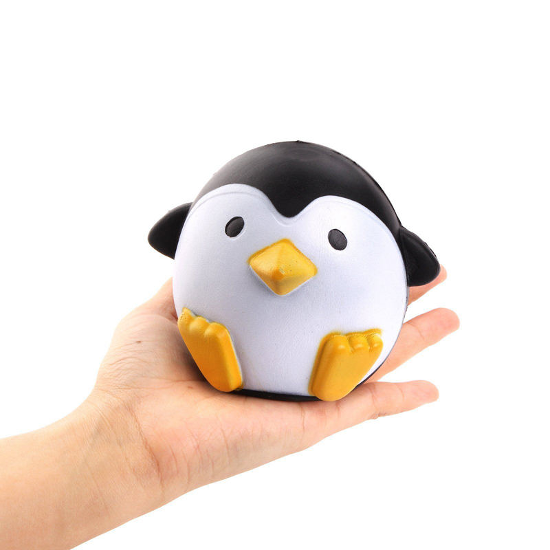 Squishy Questions : New Squeeze Stretch Rare Kawaii Squishy Penguin Bread Slow Rising Cartoon Toy eBay