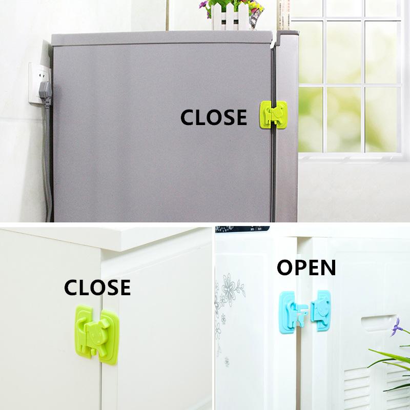 fermeture serrure s curit b b enfant porte tiroir frigo verrouillage animal ebay. Black Bedroom Furniture Sets. Home Design Ideas