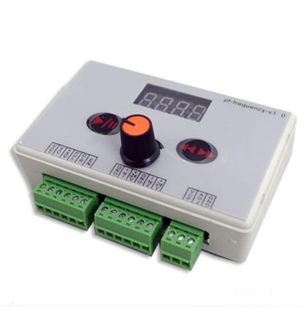 Reversible stepper motor speed regulator pulse signal for How to control speed of servo motor