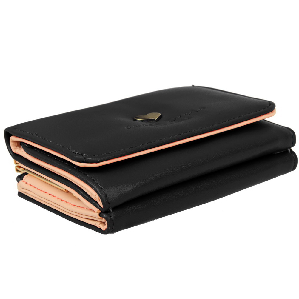 thboxs01 women pu leather small kiss lock wallet clutch card holder case purse ebay. Black Bedroom Furniture Sets. Home Design Ideas