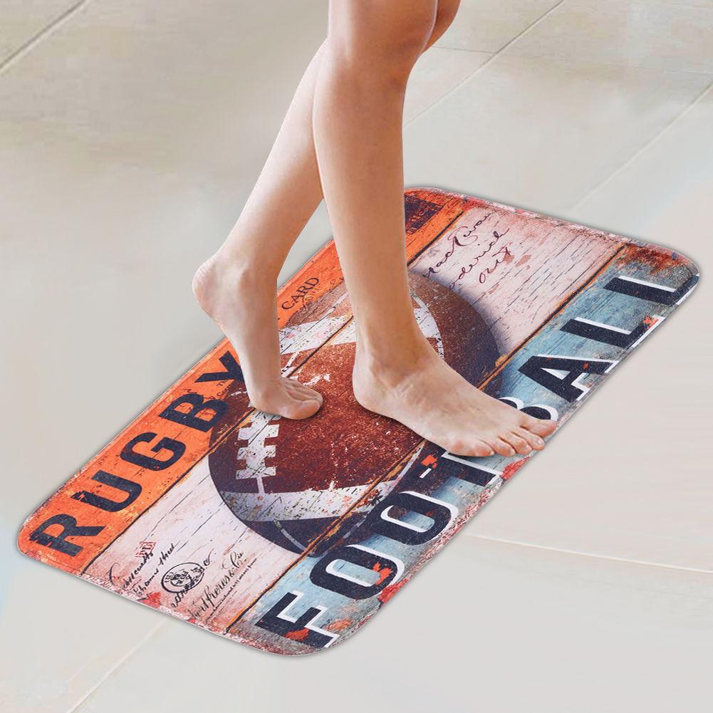 Funny Door Mat Rubber Floor Rug Non Slip Pad Home Indoor