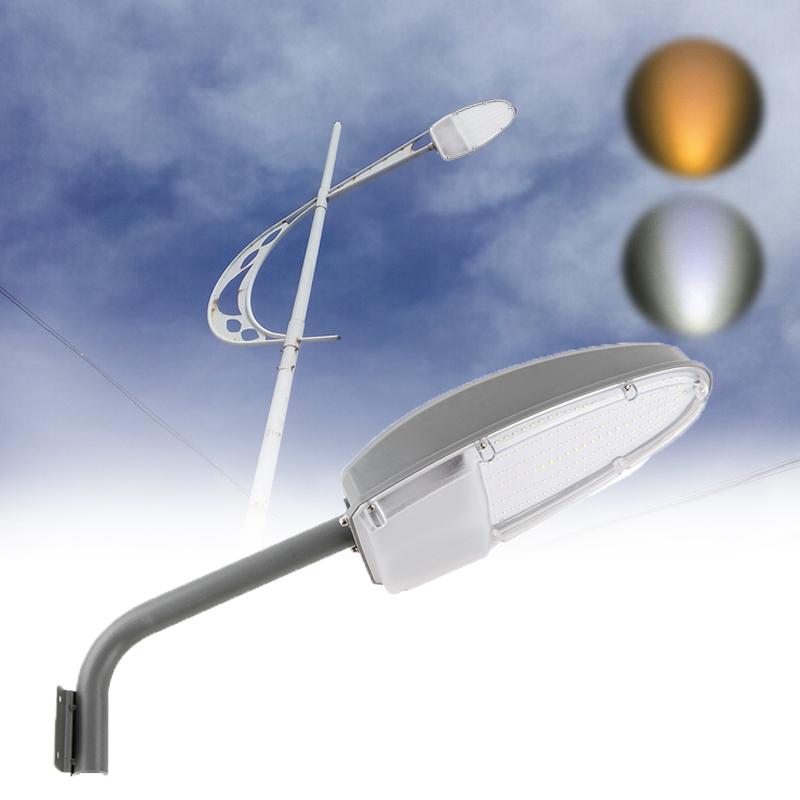 24w led stra enbeleuchtung hofbeleuchtung stra enleuchte laterne mit lichtsensor ebay. Black Bedroom Furniture Sets. Home Design Ideas