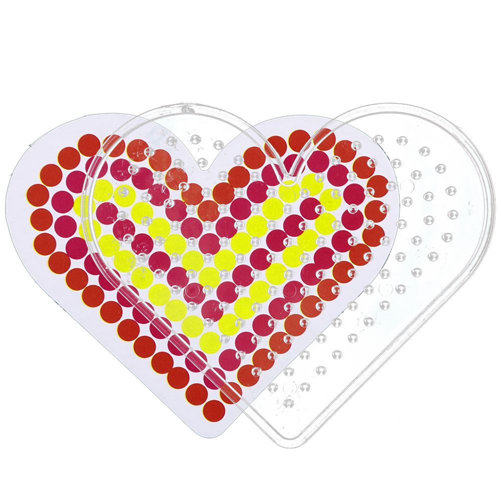 pegboards for perler bead hama fuse clear square