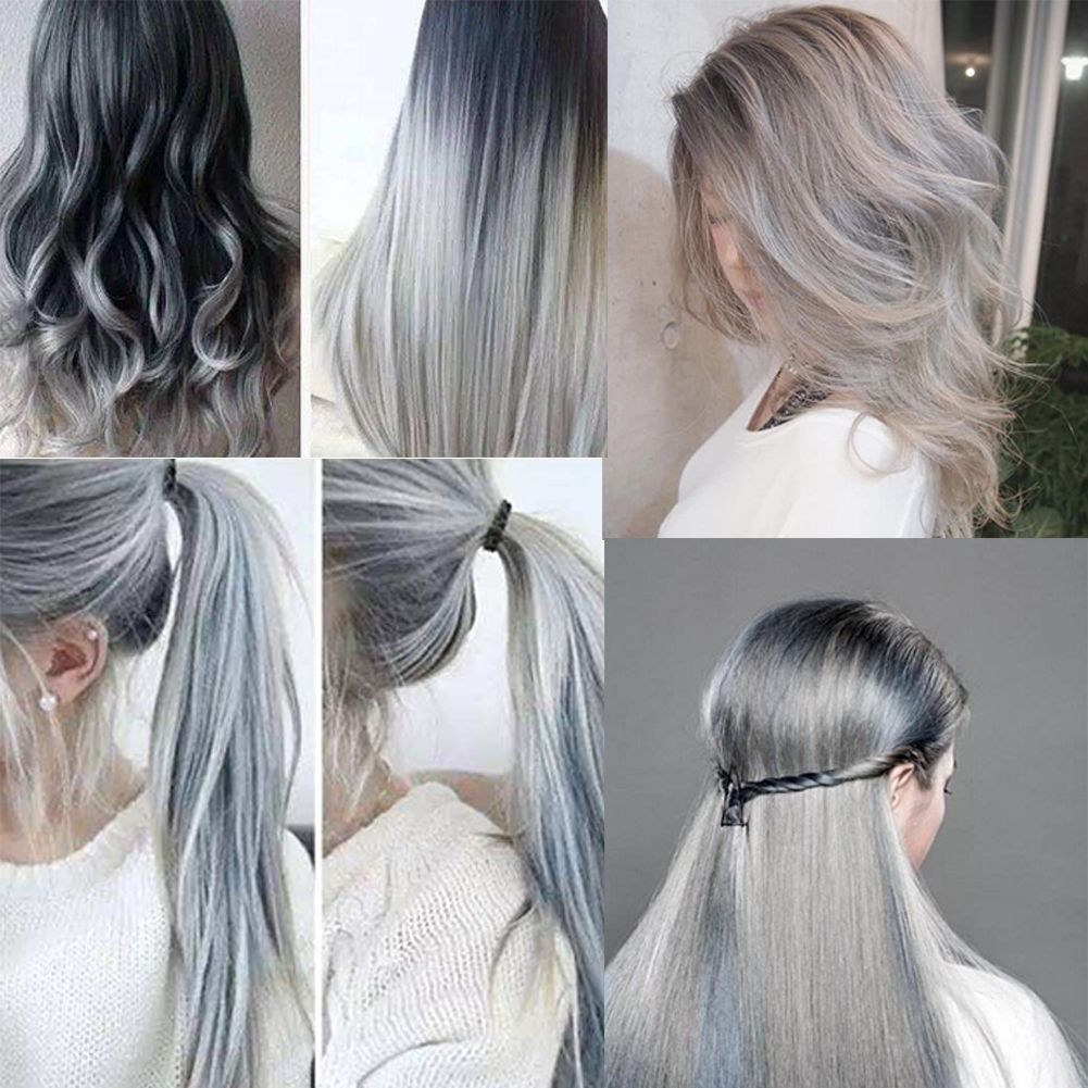how to get silver hair colour