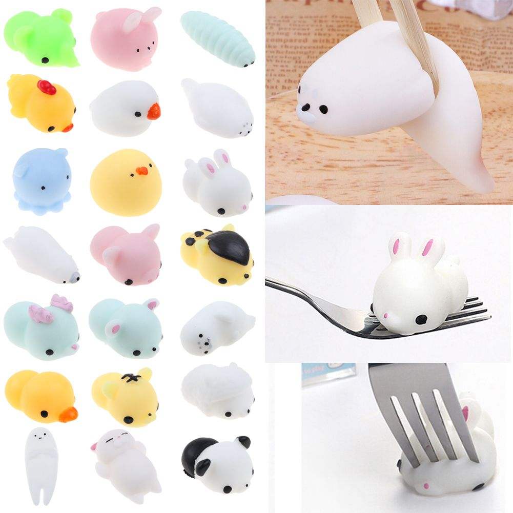 Squishy Cat Accessory : Mini Squishy Animals Anti Stress Reliever Mood Vent Squeeze Toy Interesting eBay
