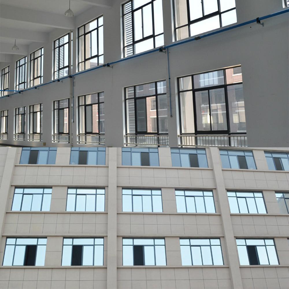 Yazi Silver Mirror One Way Window Film Solar Reflective