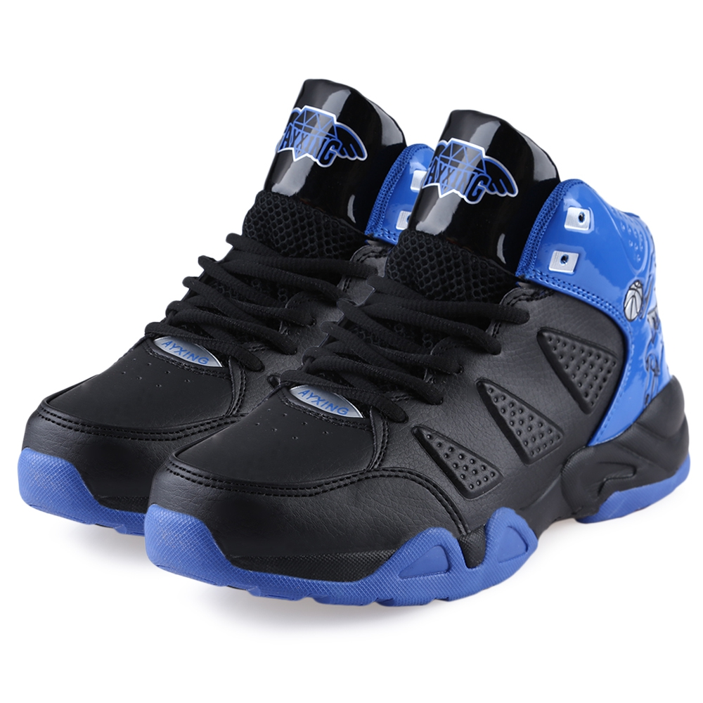 Fashion Mens Sports Casual High Top Basketball Shoes ...