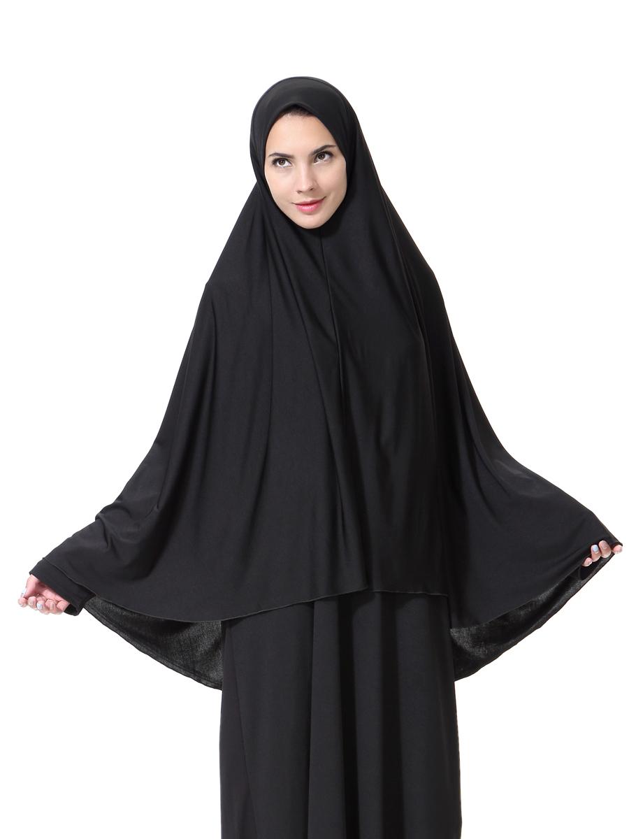 Women Dubai Long Scarf Muslim Full Cover Wrap Head Scarf ...