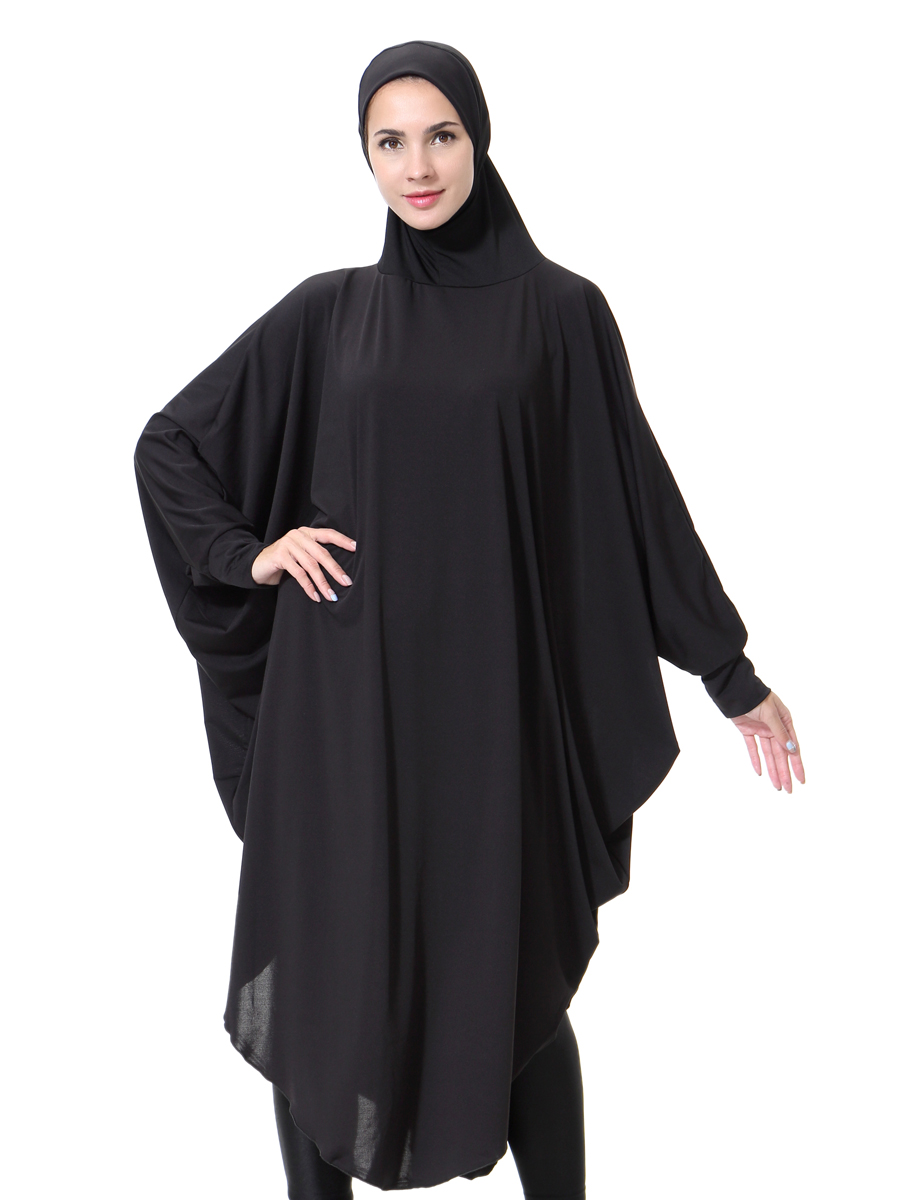 Women 39 S Prayer Abaya Jilbab Long Dress Jellaba Islamic Clothing Hijab Robe New Ebay