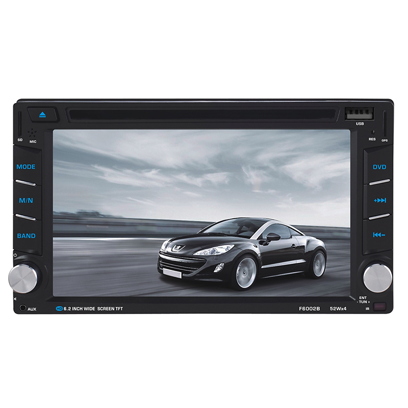 6.2\'\' Double 2DIN Car DVD Stereo Radio GPS Navigation Touch Screen ...