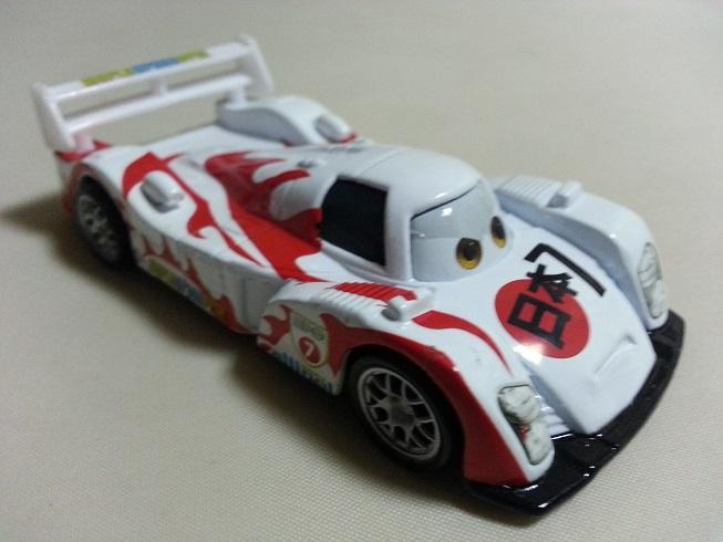 Mattel Disney Pixar Cars 2 Shu Todoroki Diecast Toy Car 1 ...