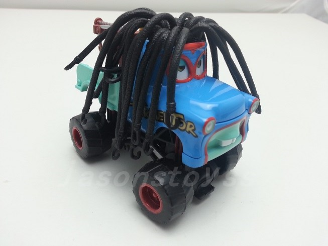 Mattel Disney Pixar Cars Monster Truck Rasta Mater Diecast Toy Car