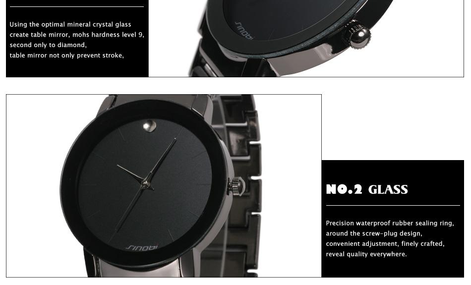 Mens Waterproof Casual Watches Top Luxury Brand Geneva ...