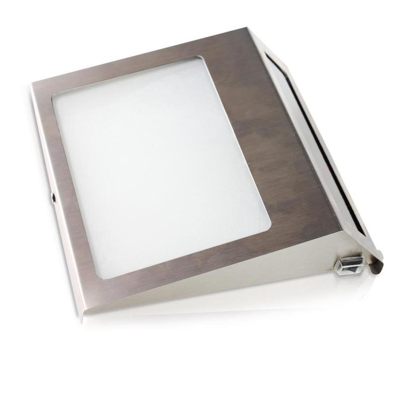 solar hausnummer beleuchtung 2 led hausnummernleuchte beleuchtet glas edelstahl ebay. Black Bedroom Furniture Sets. Home Design Ideas