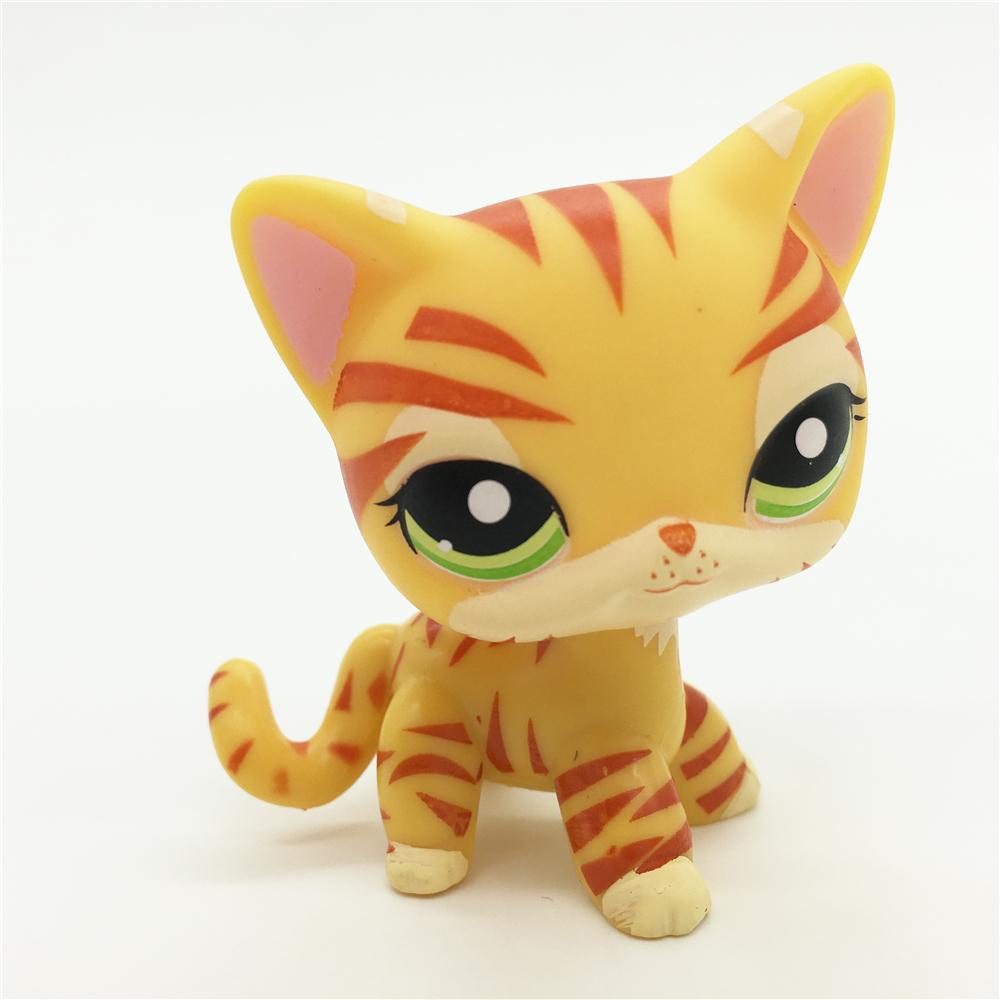 Littlest Pet Shop  Cat Green Eyes