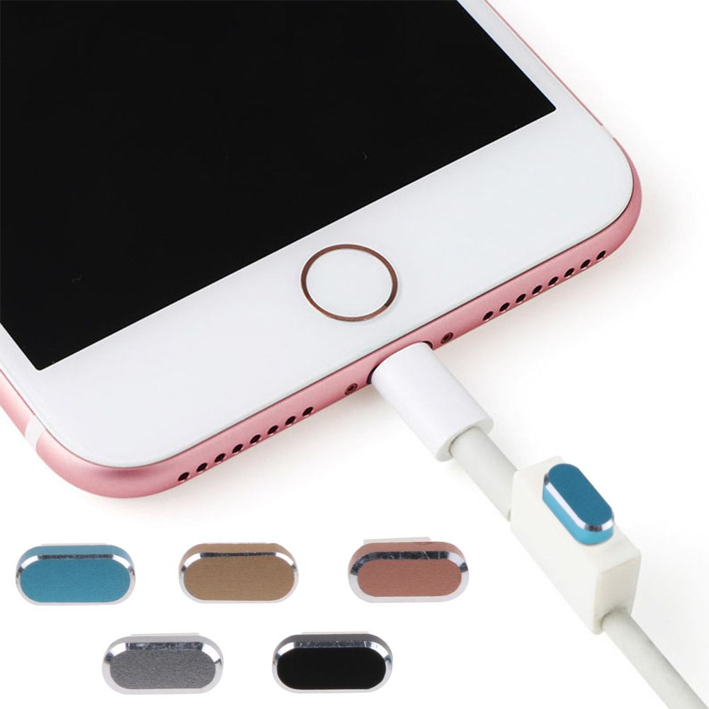 timeless design a3fc4 3f5ff Details about Earphone Jack & Charger Port Anti Dust Plug Caps for  iPhone7/7Plus 8/8Plus/ X