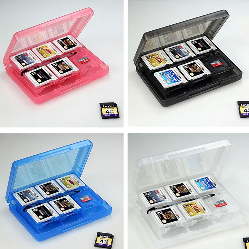 Nintendo 3ds Colors Cases 28 in 1 Game Me...