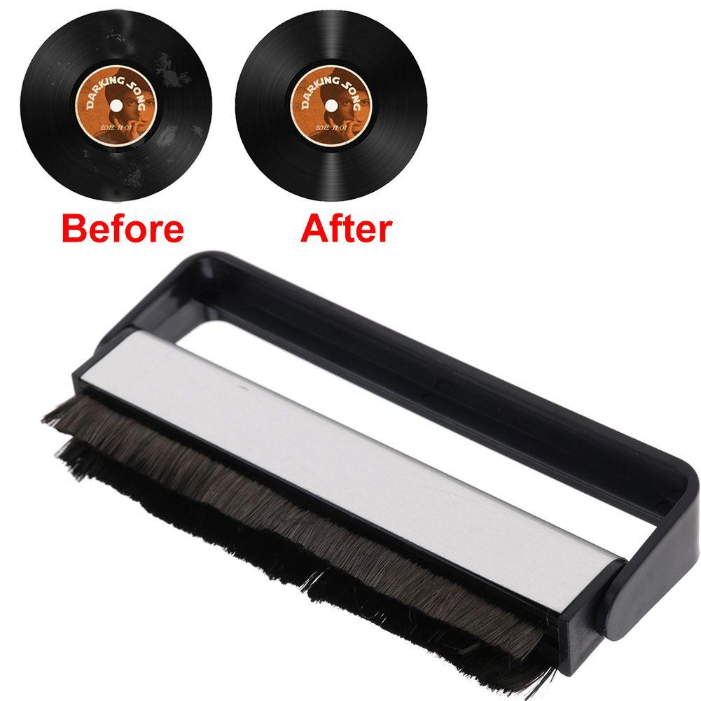 how to use carbon fiber vinyl brush