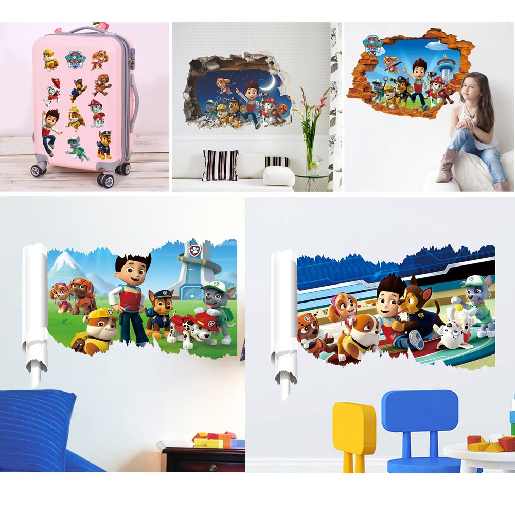 3d wall wandtattoo wandsticker wandaufkleber kinderzimmer 50x70cm be ebay. Black Bedroom Furniture Sets. Home Design Ideas