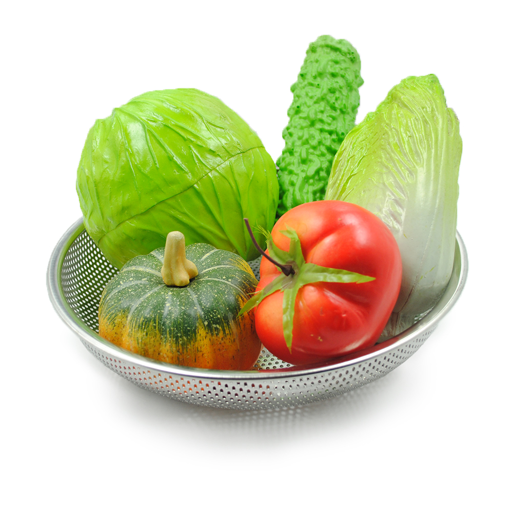 Stainless Steel Vegetable Mesh Colander Rice Strainer