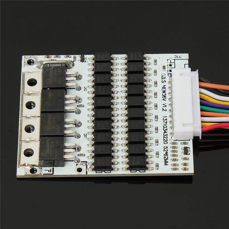 36V Cell 10s Li-on Akku Batterie Schutz Platine BMS PCB für 10 Packs max 40A 176