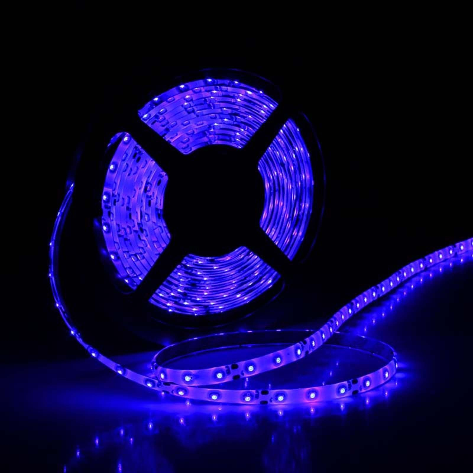 5M Waterproof Marine LED Strip Lights Blue Flexible Light ...