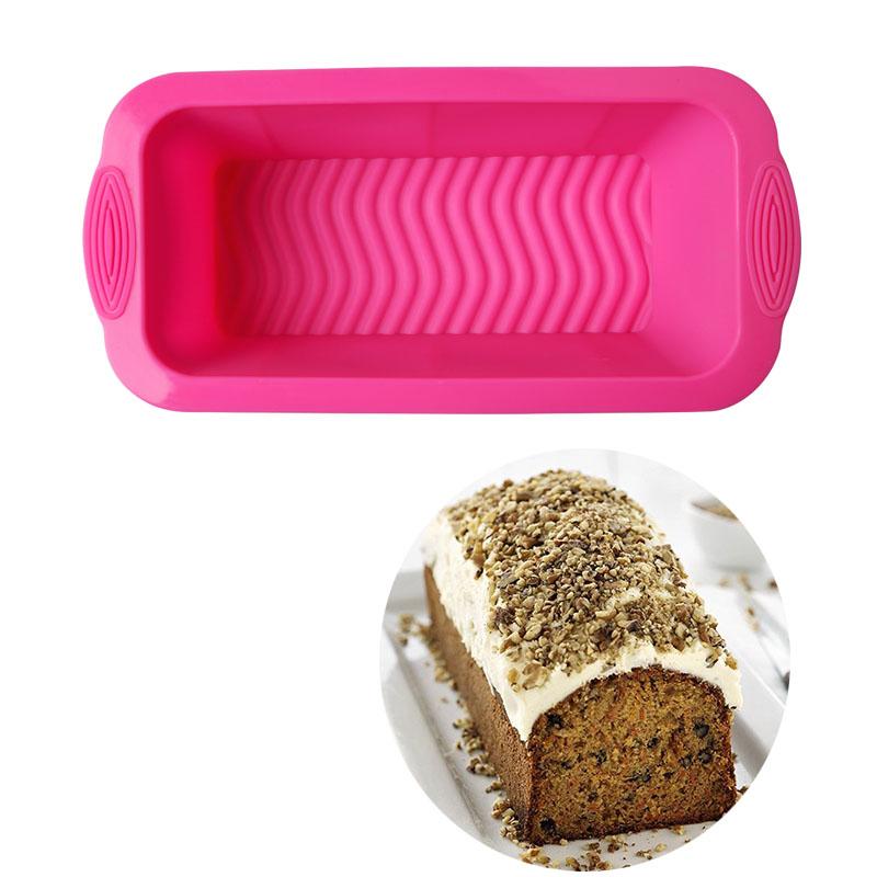 Silicone Bread Mold Cake Pan Muffin Nonstick Bakeware Mold