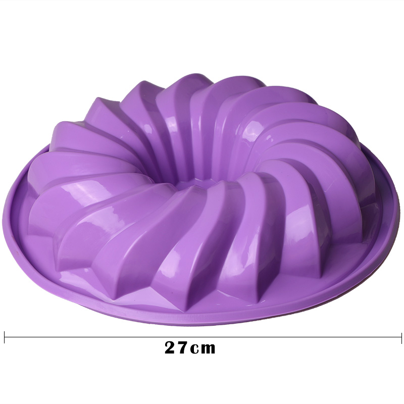Silicone Bread Mold Cake Pan Muffin Nonstick Bakeware Mold