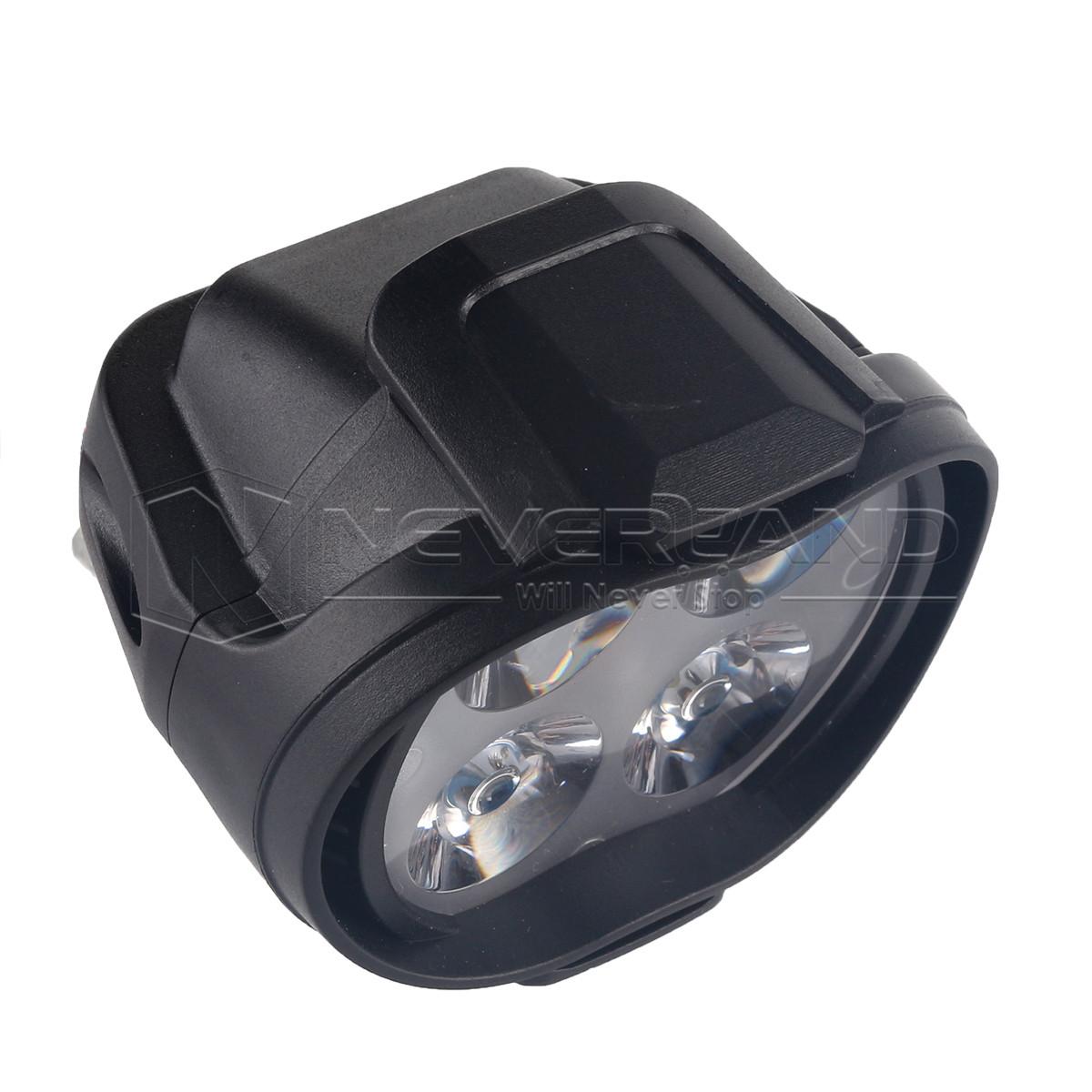 2x 12w 12v 4 led scheinwerfer birnen leuchte lampen f r auto motorrad fahrad ebay. Black Bedroom Furniture Sets. Home Design Ideas