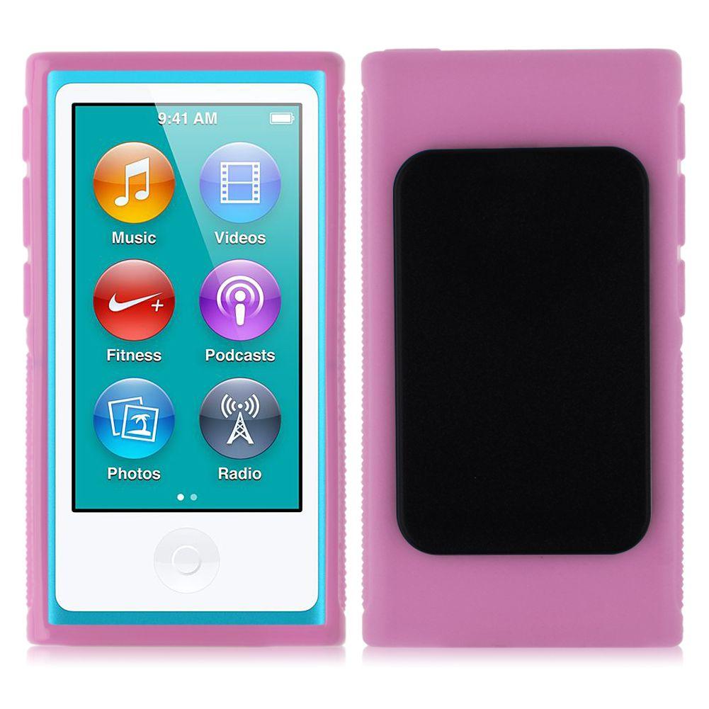 for apple ipod nano 7 7th gen rubber gel case cover skin. Black Bedroom Furniture Sets. Home Design Ideas