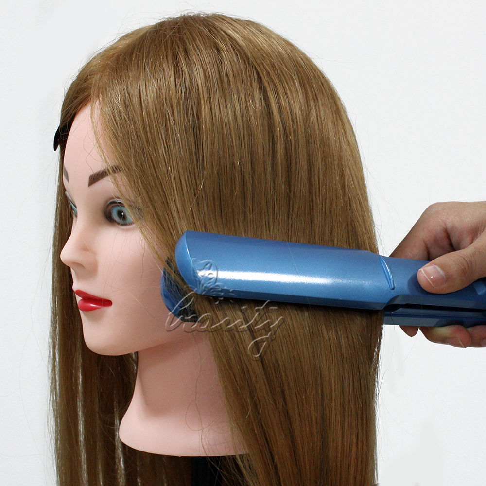 styling real hair 26 quot 80 real human hair hairdressing styling 4978
