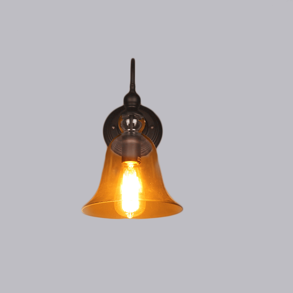 Retro Glass Wall Lights : Edison Vintage Style Antique Glass Industrial Retro Light Wall Lamp Wall Sconce Auctions - Buy ...