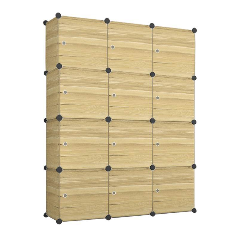 diy regal steckregal kleiderschrank regalsystem schuhregal aktenregal mit t ren. Black Bedroom Furniture Sets. Home Design Ideas