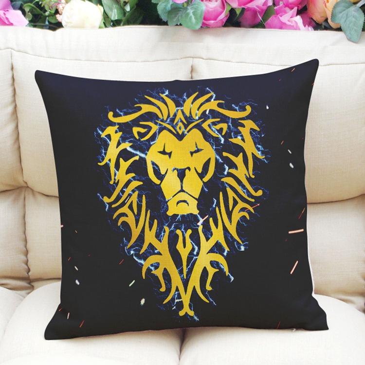 WORLD OF WARCRAFT Decoration Throw waist Pillow Case Cushion Cover Zipper eBay