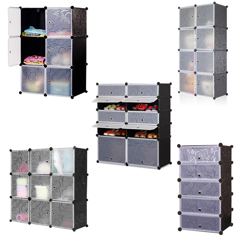 regal diy regalsystem kleiderschrank mit t ren badregal kunststoff steckregal. Black Bedroom Furniture Sets. Home Design Ideas