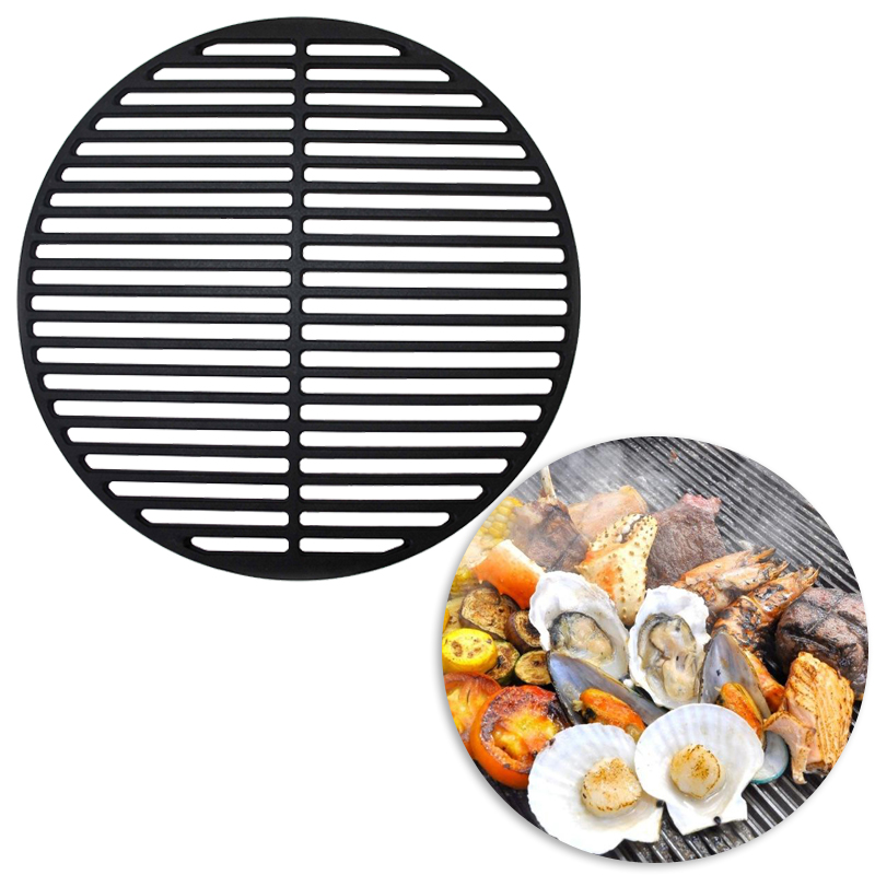 gu eisen grillgitter 54 5 cm grillrost gussrost grillaufsatz emailliert grill. Black Bedroom Furniture Sets. Home Design Ideas