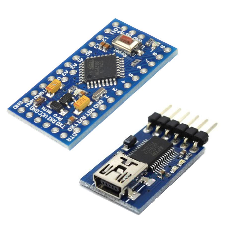 Atmega pro mini v m arduino compatible fidi ft rl