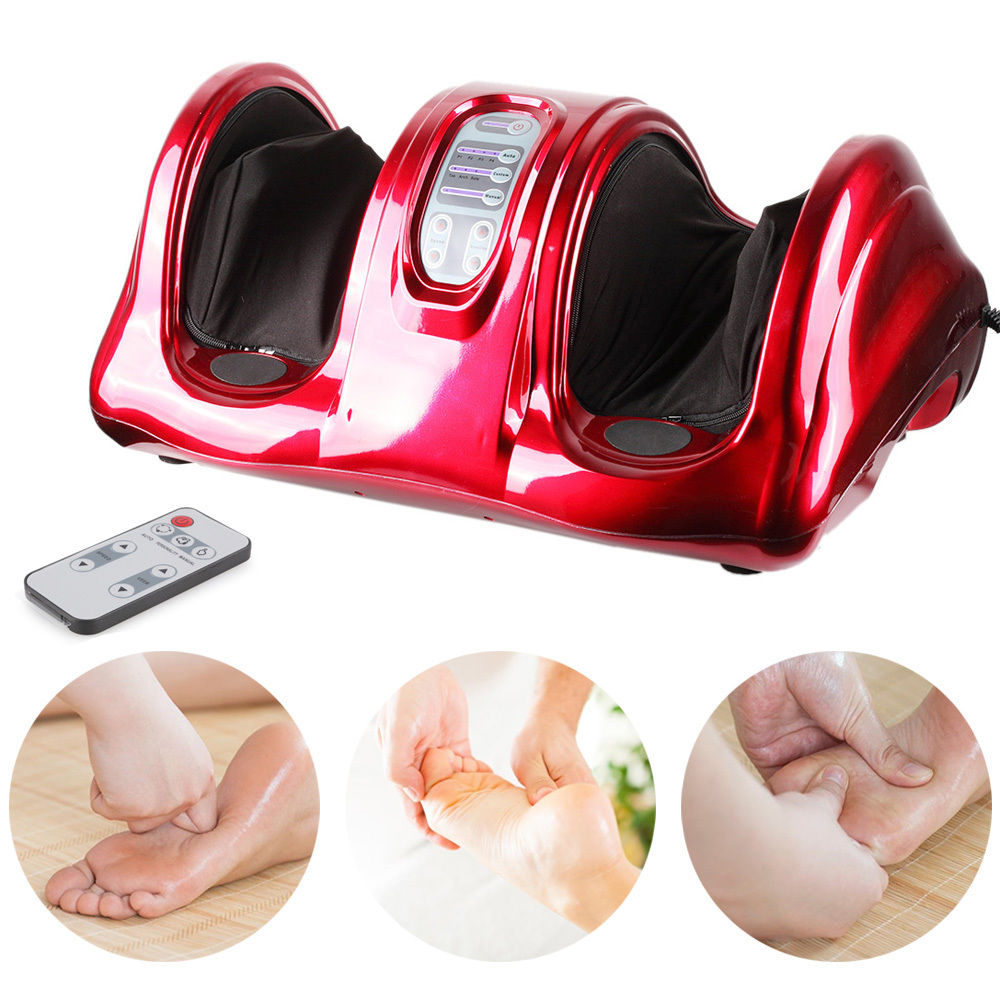 deluxe electric circulation foot massager shiatsu blood booster massage machine ebay. Black Bedroom Furniture Sets. Home Design Ideas