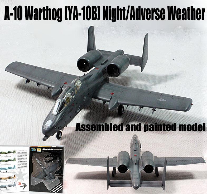 A-10 Thunderbolt II warhog YA-10B night AW aircraft 1/72 ...