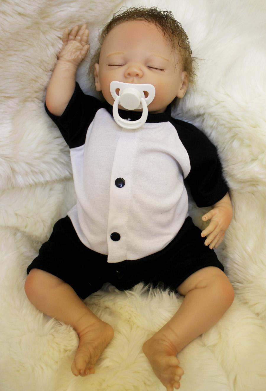 18 Quot Handmade Reborn Baby Doll Newborn Lifelike Dolls Soft
