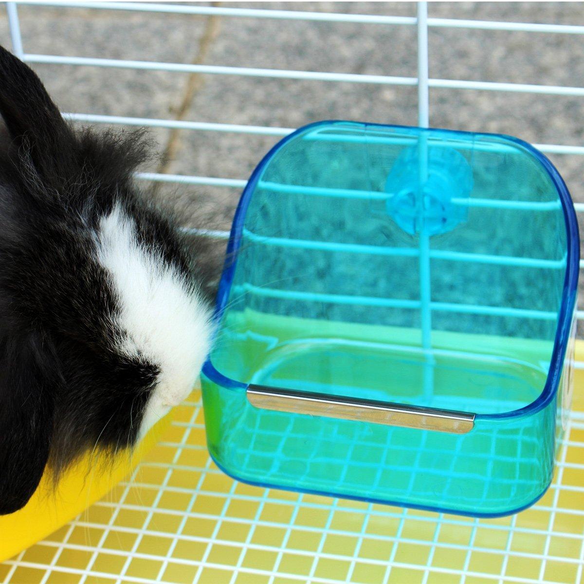 dispenser animal feed hamster random rabbit small com toy guinea cage on rat bowl grass box aliexpress alibaba pig feeder hay carrot holder item color
