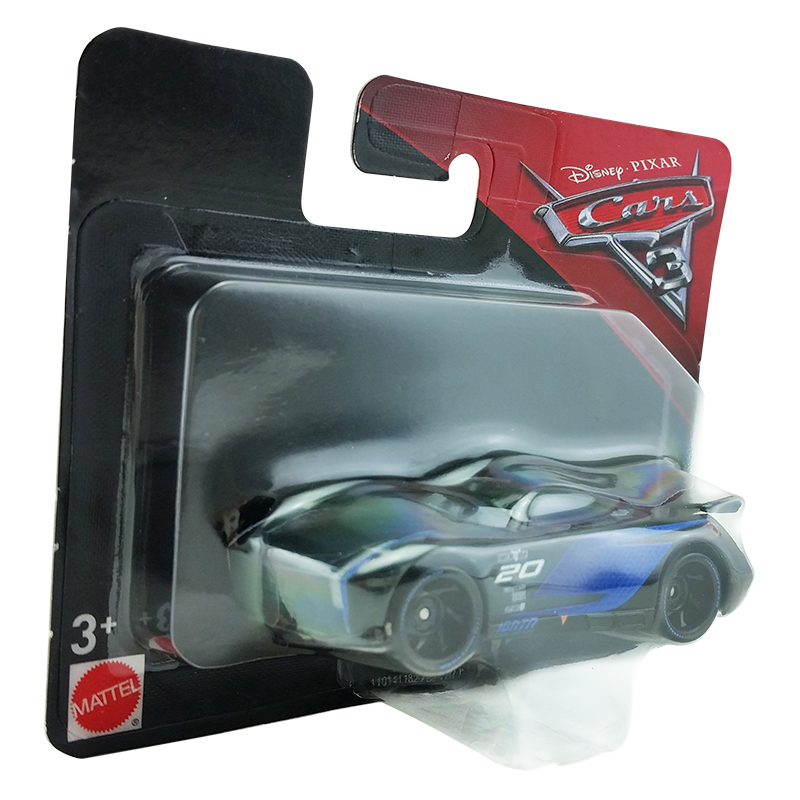 mattel disney pixar cars 3 jackson storm plastic toy car 1 55 box in stock kid ebay. Black Bedroom Furniture Sets. Home Design Ideas