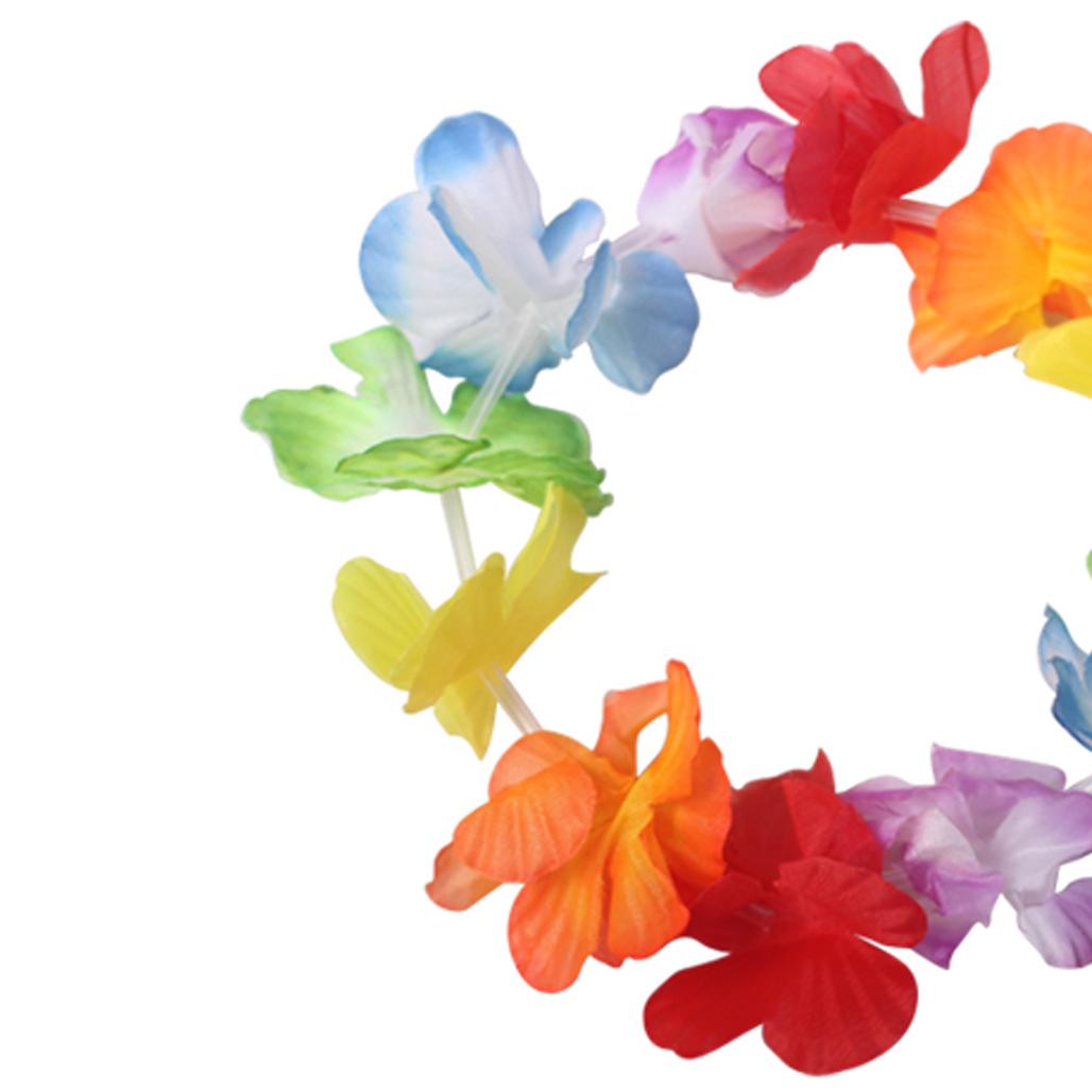 50pcs Jumbo Party Bag Tropical Hawaiian Luau Lei Styles Colors Party