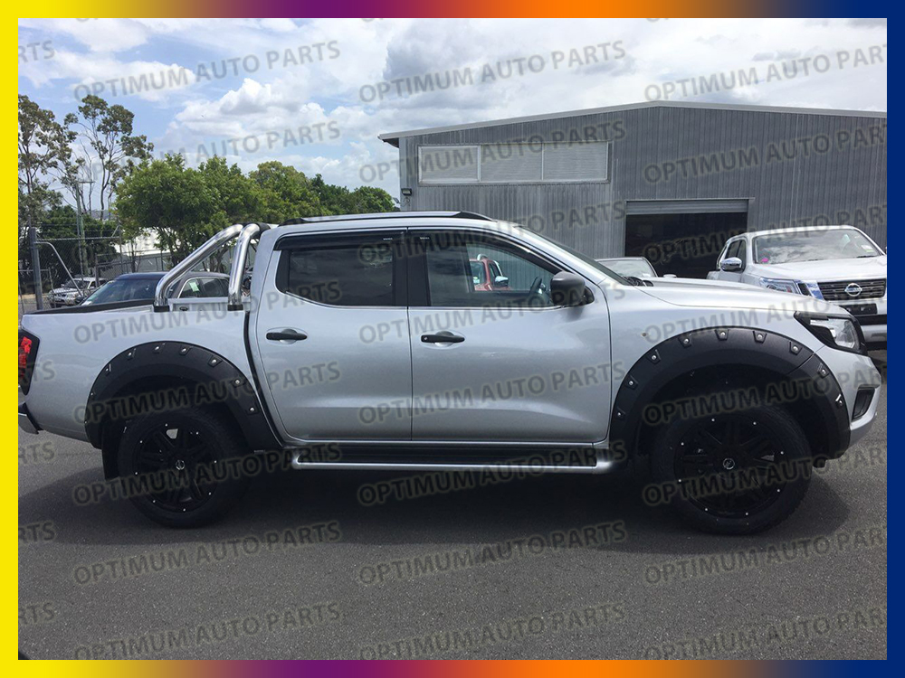 Wrinkle Fender Flares Wheel Arch To Suit Nissan Navara D23