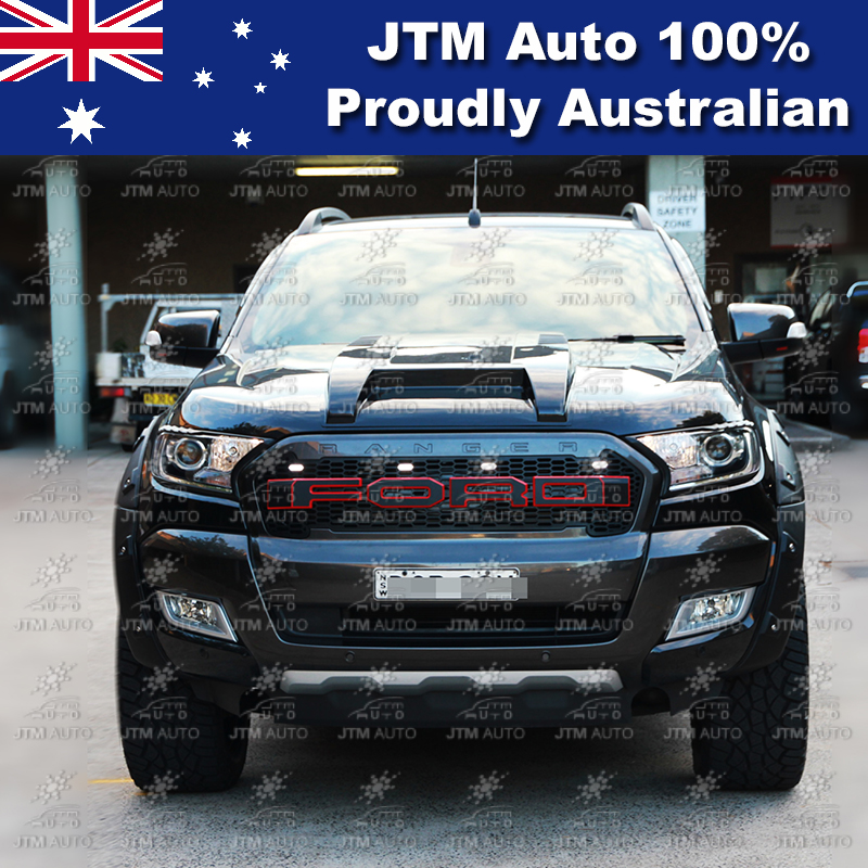 To Suit Ford Ranger Px2 Wrinkle Matt Black Fender Flares
