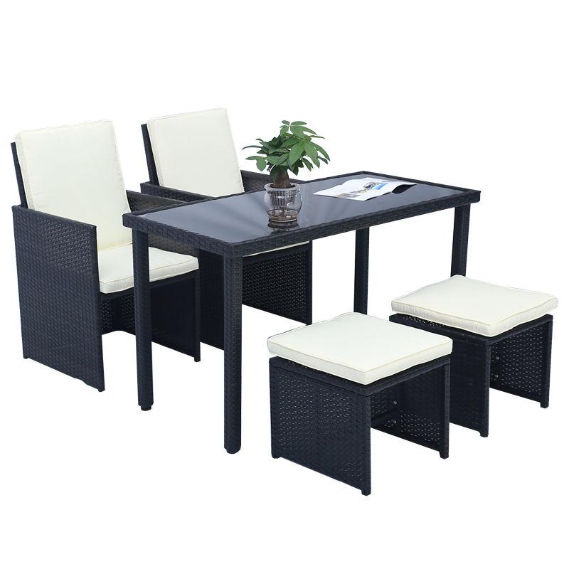 sitzgruppe poly rattan gartengarnitur sitzgarnitur gartenm bel gartenliege set ebay. Black Bedroom Furniture Sets. Home Design Ideas