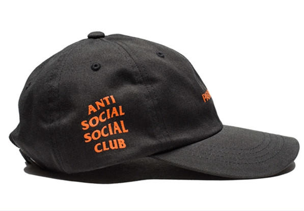 Anti Social Social Club Undefeated Paranoid ASSC Baseball Ball Cap ... 8b860c5eb59c