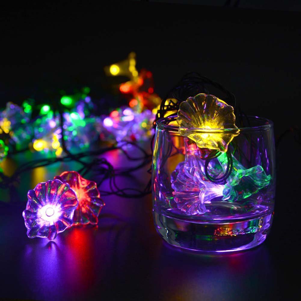 Fairy Flower Solar String Lights 16 Feets LED Light