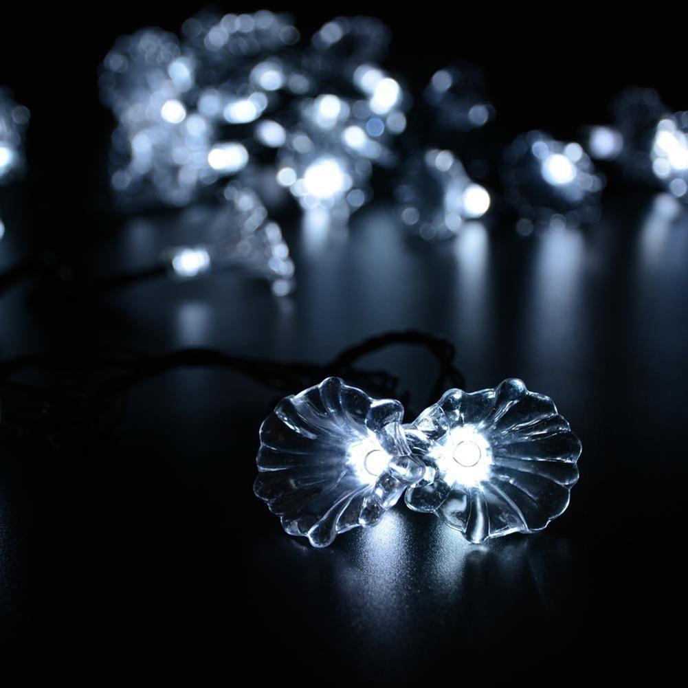Fairy Flower Solar String Lights 16 Feets Led Light Christmas Home Garden Decor Ebay