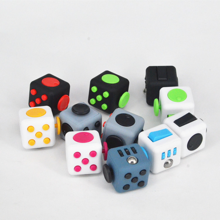 Stress Relief Toys For Adults : Fidget cube children toy adults fun stress relief